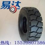 厂家直销秦泰品牌叉车轮胎实心胎500-8叉车实心轮胎