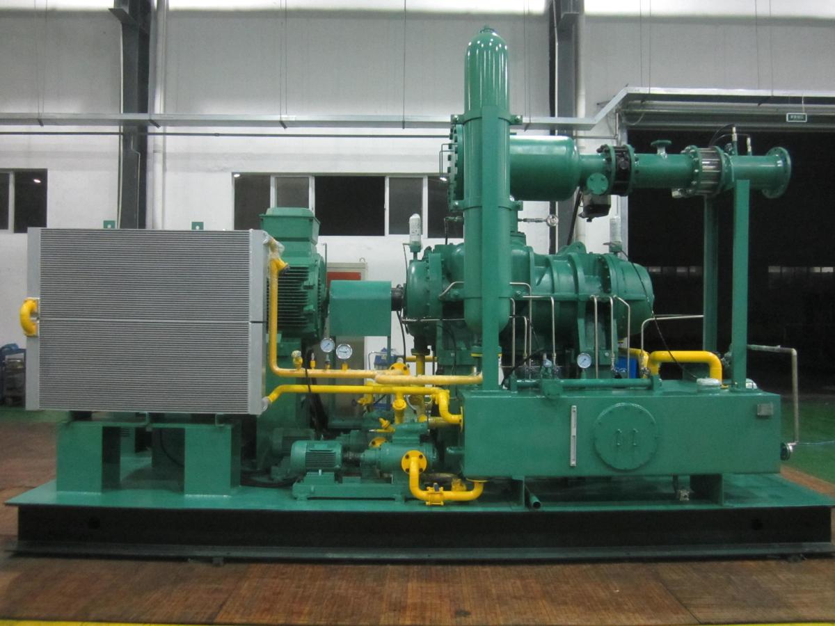 开山牌的螺杆式 蒸汽 膨胀 发电机组 的七大技术优 高清图片