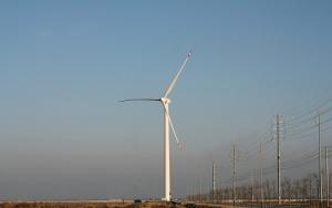 山东首个成功并网分布式风电项目建成