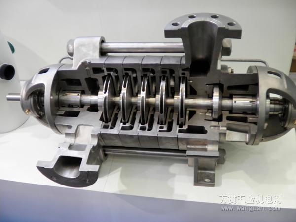 离心泵内部结构图