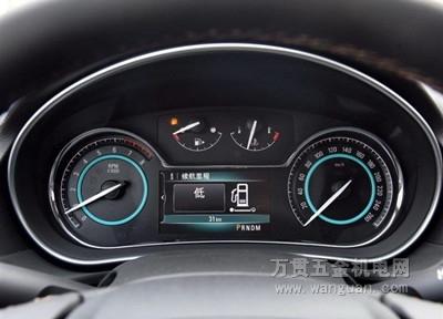 汽车仪表有什么牌子 图解中级车仪表盘品牌高清图片