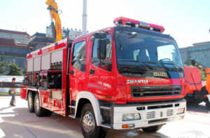 高品质安全阀助力山推 为消防车保驾护航