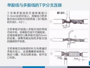 史上最全导线连接方法【图文精解】