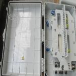 塑料72芯光纤楼道箱