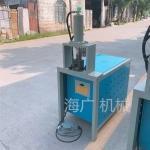 角铁槽钢冲孔护栏冲孔冲弧机器一次性成型冲弧口