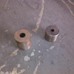 成都固特机械 厂家供应液压调直切断机圆刀 建筑机械刀片 切断