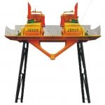华欣2JS500强制式双卧轴搅拌机  四川搅拌机