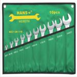 四川现货供应汉斯工业级双开十件套组套扳手3027H型号价格