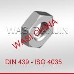 WASI現貨DIN439六角薄螺母