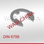 WASI供五金机电用DIN6799开口挡圈价格优惠