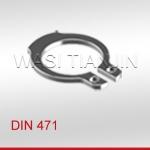 萬喜DIN471軸用擋圈軸卡簧