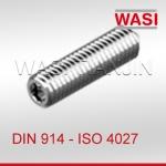DIN914内六角锥端紧定螺钉