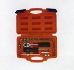 四川上海劳动牌29PC套筒组套手动工具价格实惠