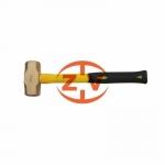 防爆工具廠家供應zv2001銅合金八角錘帶柄