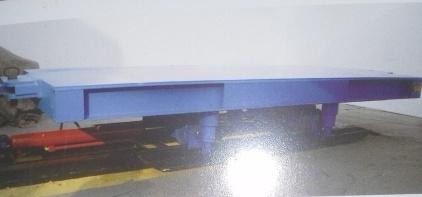 煤矿综采工作面液压自移式平板设备列车