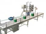 江蘇鹽城消毒液灌裝機 大桶灌裝機 建筑材料灌裝機