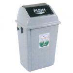 四川成都环保垃圾桶 25型弹盖垃圾桶