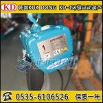 2噸韓國KD環鏈電動葫蘆,KD-1固定式環鏈電動葫蘆