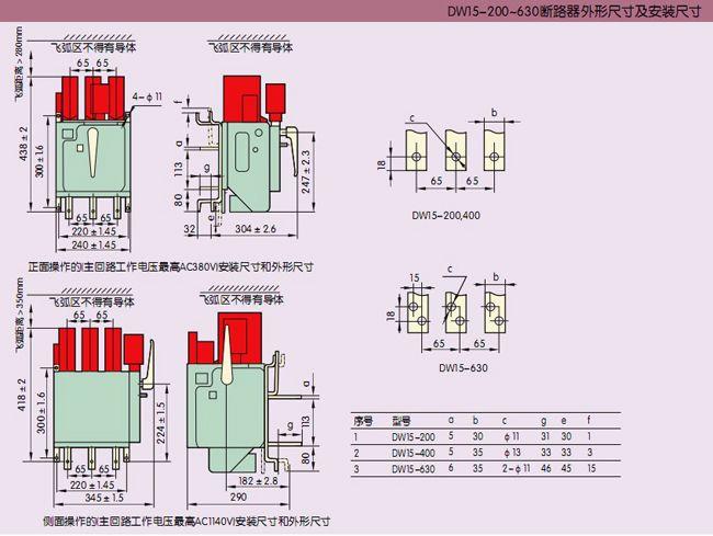 成都正泰蜀南电气dw15系列万能式断路器