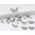 不銹鋼蝶形螺母 蝴蝶形螺帽 羊角元寶手擰螺母 廠家直銷