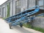 电动升降货物皮带运输机 小型防滑皮带机