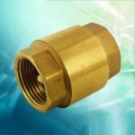 鞍山供應黃銅加厚立式止回閥 彈簧單向閥 各種規格