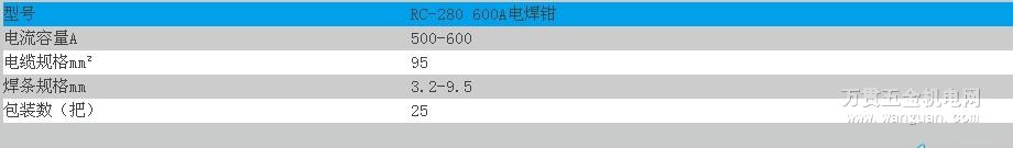 RC-280 600A电焊钳 宁波日出牌 四川成都 质量保证