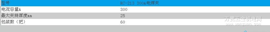 RC-213 300A电焊夹 宁波日出牌 四川成都 质量保证
