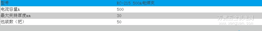 RC-215 500A电焊夹 宁波日出牌 西南片区 性价比高