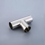 鞍山不锈钢304 316焊接三通 卫生级冲压等径三通