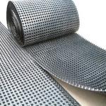 車庫頂板耐根刺2公分高1200克凹凸型塑料排水板