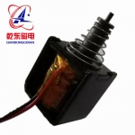 汽車燈高溫電磁鐵微型拉式12V直流電磁鐵QDU0622L