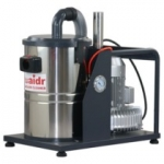工业用吸尘器WX-1530S,吸喷塑粉尘用威德尔不锈钢台式吸