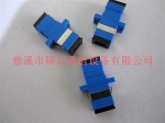 厂家供应SC光纤适配器——光纤连接器 光纤法兰