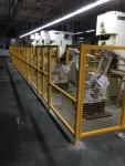 护栏网_车间机器人隔离栏_厂家定做安装