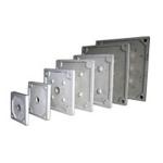 廠家供應壓濾機 450型廂式濾板 板框 隔膜濾板