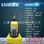 630型变频打磨机 12磨头打磨机 固化剂地坪单机的厂家