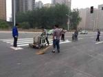 深圳热熔划线宝安区厂区道路标线划线