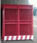 深圳电梯井口安全门 电梯防护门 施工电梯门 基坑护栏生产厂家