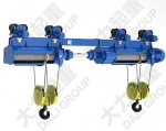 供应2*16吨同轴双钩电动葫芦|钢丝绳电动葫芦价格