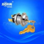 JK201环保锁 防水钥匙开关 小功率钥匙开关锁 反弹锁