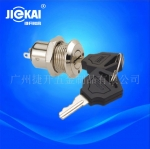 JK0111电源锁 金属钥匙开关 激光电源锁 门控音响锁