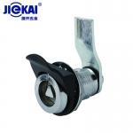 JK619锌合金门锁 三角拉攀锁 圆柱转舌锁 电梯层门锁