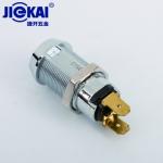 JK210环保电源锁 钥匙开关 游戏机锁 自复位钥匙开关锁