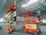 川渝地区高速收费站安装监控检测交通管理升降车