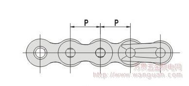 四川鏈條鏈輪價格 短節距精密滾子鏈附件