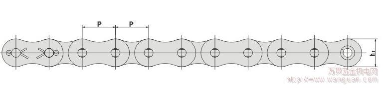 四川最大鏈條鏈輪廠家  側彎鏈批發