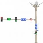智慧燈桿,智慧照明,智能燈桿,城市智慧共桿廠家
