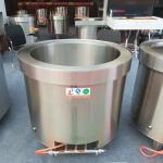 厂家直销 不锈钢带耳汤锅汤桶饭桶多用桶 节能汤桶批发