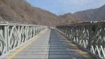 裝配式公路鋼橋(貝雷鋼橋)臨時便橋 加強浮橋